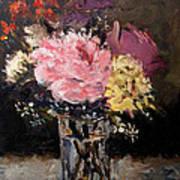 Flowers In Vase Art Print