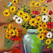 Flowers - Still Life Art Print