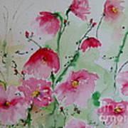 Flowers - Watercolor Painting Art Print