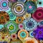 Flowery Meadow 3 Art Print