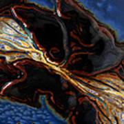 Flowing Textures Art Print
