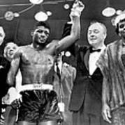 Floyd Patterson After Win Art Print by Retro Images Archive