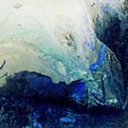 Fluid Enchantment Art Print by Janice Sakry