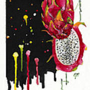 Fluidity 01 Elena Yakubovich Art Print