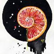 Fluidity 13 - Elena Yakubovich Art Print