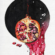 Fluidity Vii - Elena Yakubovich Art Print by Elena Yakubovich