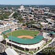 Fluor Field At The West End Greenville Art Print