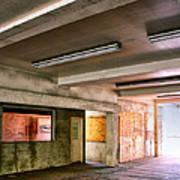 Fluorescent Underground Palm Springs Art Print