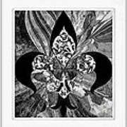 Flure De Lis Art Print