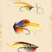 Fly Fishing-jp2094 Art Print