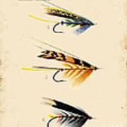 Fly Fishing-jp2095 Art Print