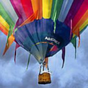 Flyin The Coop II Art Print