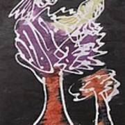 Flying Birds On The Big Tree Art Print