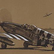 Flying Dutchman Art Print by Wade Meyers