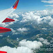 Flying High 3 Art Print