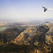 Flying Over Spanish Land I Art Print