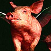 Flying Pigs V3 Art Print