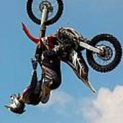 Fmx Backflip Art Print