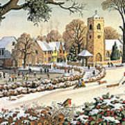Focus On Christmas Time Art Print