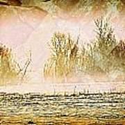 Fog Abstract 5 Art Print