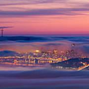 Fog City - San Francisco Art Print
