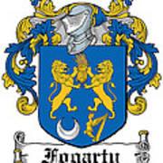 Fogarty Coat Of Arms Irish Art Print