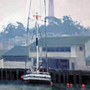 Foggy Day San Francisco Art Print