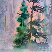 Foggy Patch Art Print