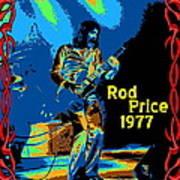 Foghat In Spokane 1977 Art Print