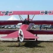 Fokker Dr.i Art Print