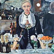 Folies Bergere Revisited Art Print