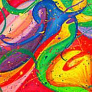Follow Me Triptych Art Print