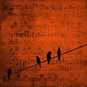 Follow The Music Art Print