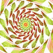 Abstract Swirls  Art Print