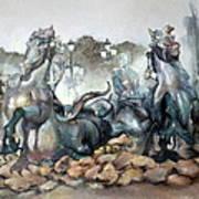 Font Girondins Art Print