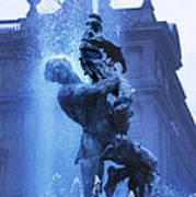 Fontana Delle Naiadi Art Print