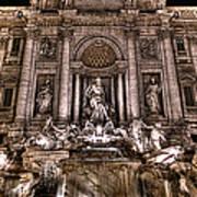 Fontana Di Trevi Art Print