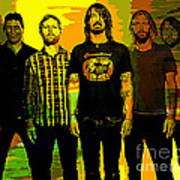 Foo Fighters Art Print