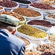 Food At Local Bazaar - Kashgar - China Art Print