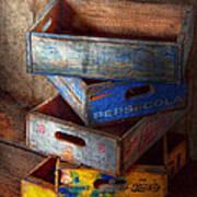 Food - Beverage - Pepsi-cola Boxes  Art Print