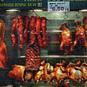 Food - Roast Meat For Sale Art Print