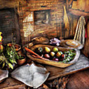 Food - The Start Of A Healthy Meal  Art Print