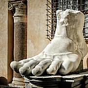 Foot Of Constantine Art Print