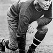 Football Player Jim Thorpe Art Print