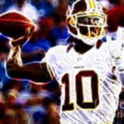 Football - Rg3 - Robert Griffin IIi Art Print