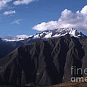 Foothill Of The Andes Art Print