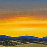 Foothills Sunrise Art Print