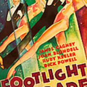 Footlight Parade, Dick Powell, Joan Art Print