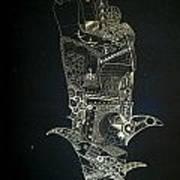 Footprint Art Print