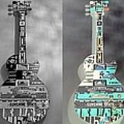 For American Guitars  Art Print